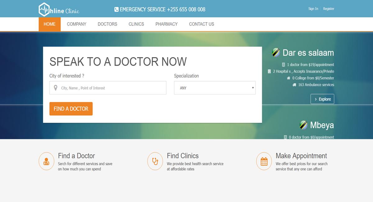 portfolio Online Doctors
